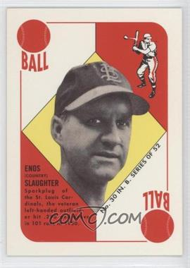 1997 Topps Stars - Rookie Reprints #14 - Enos Slaughter