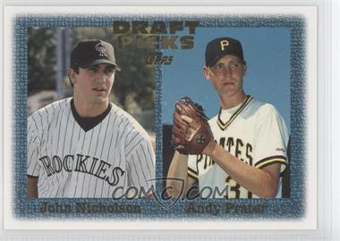 1997 Topps #482 - Andrew Prater, John Nicholson