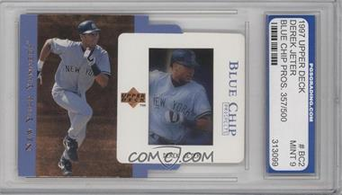 1997 Upper Deck Blue Chip Prospects #BC2 - Derek Jeter /500 [ENCASED]