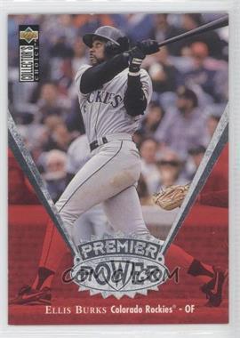 1997 Upper Deck Collector's Choice - Premier Power #PP16 - Ellis Burks