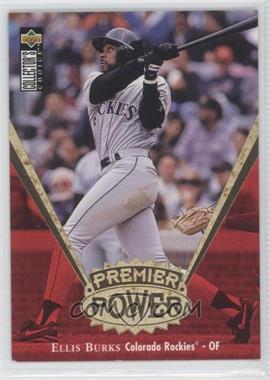 1997 Upper Deck Collector's Choice Premier Power Gold #PP16 - Ellis Burks