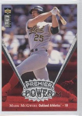 1997 Upper Deck Collector's Choice Premier Power #PP1 - Mark McGwire