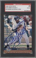 Kirby Puckett [SGC AUTHENTIC AUTO]