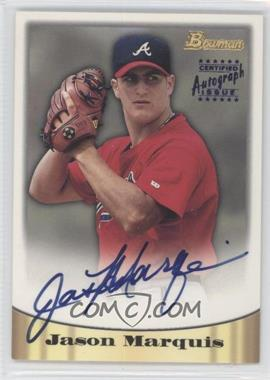 1998 Bowman Certified Autograph Issue Blue Foil #20 - Jason Marquis