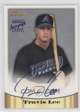 1998 Bowman Certified Autograph Issue Blue Foil #48 - Travis Lee