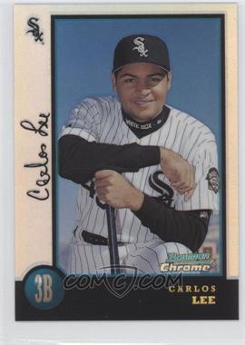 1998 Bowman Chrome - [Base] - Refractor #428 - Carlos Lee
