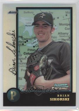 1998 Bowman Chrome International Refractor #136 - Brian Sikorski