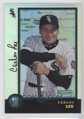1998 Bowman Chrome International Refractor #428 - Carlos Lee