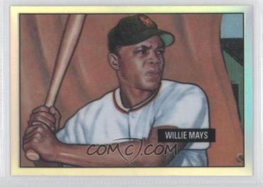 1998 Bowman Chrome Reprints Refractor #5 - Willie Mays