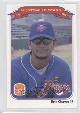 1998 Burger King Huntsville Stars - [Base] #12 - Eric Chavez