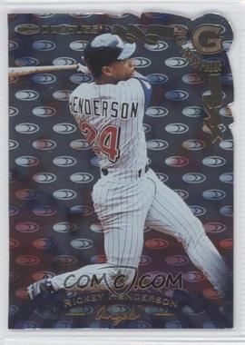 1998 Donruss Gold Die-Cut Press Proof #118 - Rickey Henderson /500