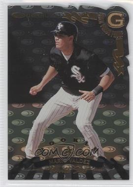 1998 Donruss Gold Die-Cut Press Proof #254 - Mario Valdez /500