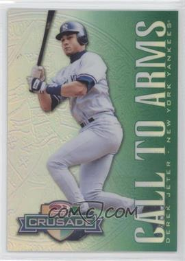 1998 Donruss Multi-Product Insert Crusade Green #32 - Derek Jeter /250
