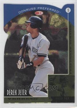 1998 Donruss Preferred - [Base] - Die-Cut Preferred Seating #9 - Field Box - Derek Jeter