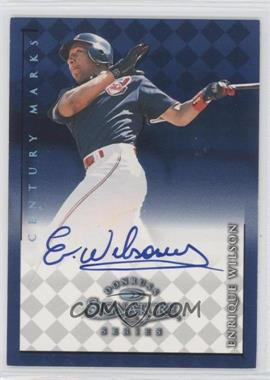 1998 Donruss Signature Series [???] #N/A - Enrique Wilson