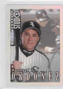 1998 Donruss Studio - [Base] - Studio Proofs #92 - Magglio Ordonez /1000