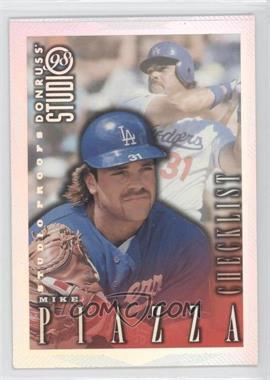 1998 Donruss Studio [???] #1 - Mike Piazza