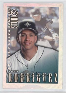 1998 Donruss Studio [???] #42 - Alex Rodriguez /1000
