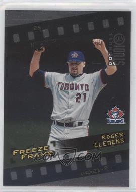 1998 Donruss Studio Freeze Frame #25 - Roger Clemens /4000