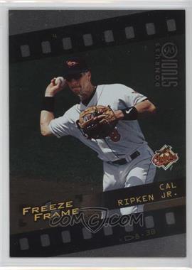 1998 Donruss Studio Freeze Frame #4 - Cal Ripken Jr. /4000