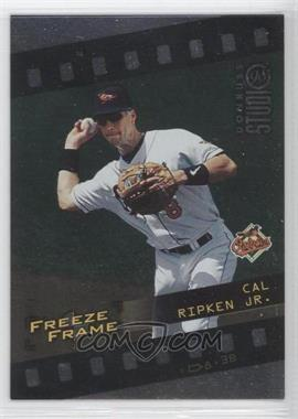 1998 Donruss Studio Freeze Frame #4 - Cal Ripken Jr. /4000