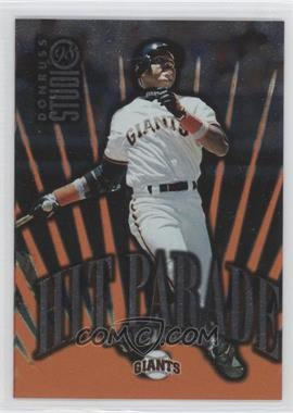 1998 Donruss Studio Hit Parade #16 - Barry Bonds /5000