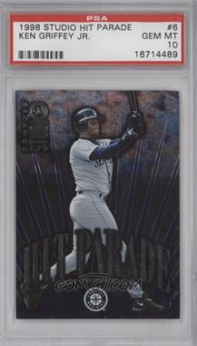 1998 Donruss Studio Hit Parade #6 - Ken Griffey Jr. /5000 [PSA 10]