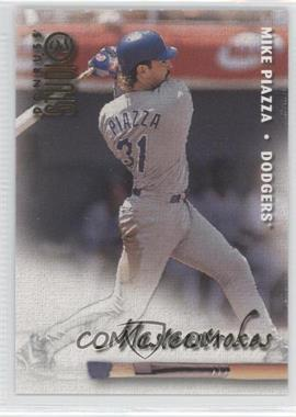 1998 Donruss Studio Masterstrokes #15 - Mike Piazza /1000
