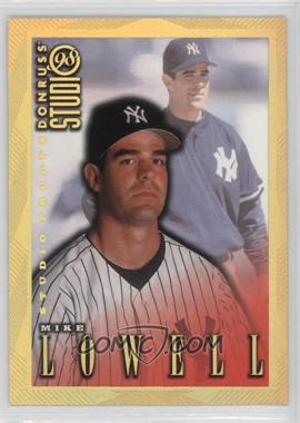 1998 Donruss Studio Studio Proofs Gold #104 - Mike Lowell /300