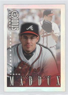 1998 Donruss Studio Studio Proofs #199 - Greg Maddux /1000