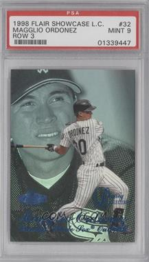 1998 Flair Showcase Row 3 Legacy Collection #32 - Magglio Ordonez /100 [PSA 9]