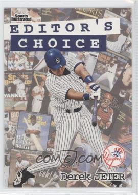 1998 Fleer Sports Illustrated - Editor's Choice #6EC - Derek Jeter