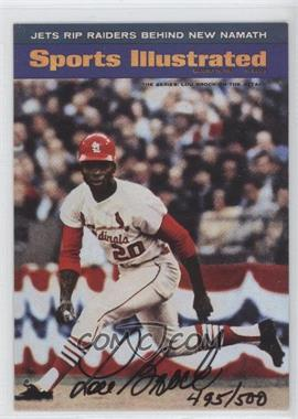1998 Fleer Sports Illustrated Autographs #N/A - Lou Brock /500