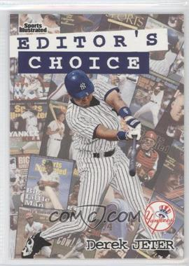 1998 Fleer Sports Illustrated Editor's Choice #6EC - Derek Jeter