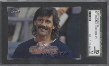 1998 Fleer Sports Illustrated #31 - Dennis Eckersley [SGC 92]