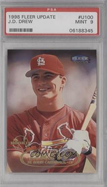 1998 Fleer Tradition Update Factory Set [Base] #U100 - J.D. Drew [PSA 9]