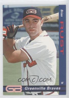 1998 Grandstand Greenville Braves #18 - Bruce Ruffin