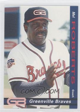 1998 Grandstand Greenville Braves #29 - Mel Rojas