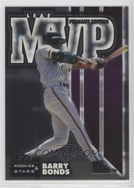 1998 Leaf Rookies & Stars MVP Pennant Edition #16 - Barry Bonds /5000