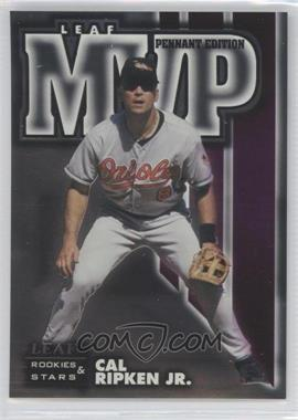 1998 Leaf Rookies & Stars MVP Pennant Edition #3 - Cal Ripken Jr. /5000