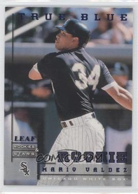 1998 Leaf Rookies & Stars True Blue #235 - Mario Valdez /500