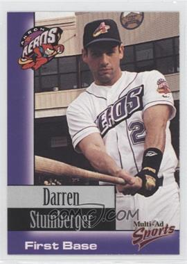 1998 Multi-Ad Sports Akron Aeros - [Base] #25 - Darren Stumberger