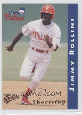 1998 Multi-Ad Sports Clearwater Phillies - [Base] #19 - Jimmy Rollins