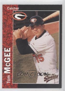 1998 Multi-Ad Sports Delmarva Shorebirds - [Base] #21 - Tom McGee