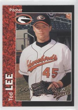 1998 Multi-Ad Sports Delmarva Shorebirds #18 - Tod Lee