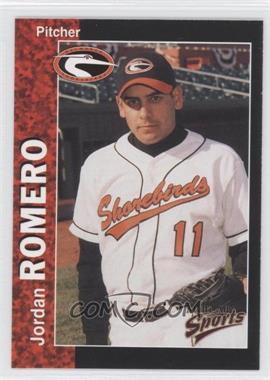 1998 Multi-Ad Sports Delmarva Shorebirds #26 - Jordan Romero