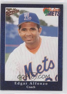 1998 Multi-Ad Sports St. Lucie Mets - [Base] #29 - Edgardo Alfonzo