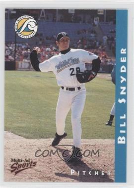 1998 Multi-Ad Sports West Michigan Whitecaps - [Base] #28 - Bill Snyder