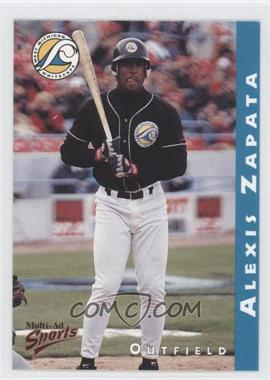1998 Multi-Ad Sports West Michigan Whitecaps - [Base] #33 - Alexis Zapata