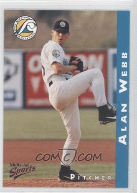 1998 Multi-Ad Sports West Michigan Whitecaps #20 - Alan Webb
